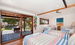 The Hawk - Wategos Byron Bay - Bedroom 3 Downstairs