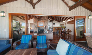 The Hawk - Wategos Byron Bay - Upstairs Balcony towards Inside Living b