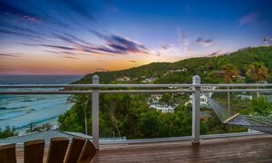The Palms at Byron - Wategos Beach - Byron Bay - View of sunset