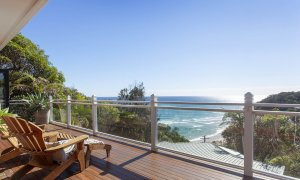 The Palms at Byron - Byron Bay - Top Floor Balcony View