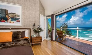 The Palms at Byron - Wategos Beach - Byron Bay - Bedroom with a view