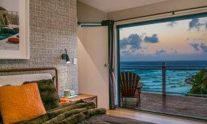 The Palms at Byron - Wategos Beach - Byron Bay - Bedroom view - dusk