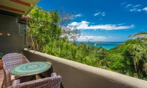 Wategos Retreats Apartment - Wategos Beach - Byron Bay - Apartment balcony and view