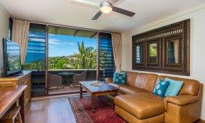 Wategos Retreats Apartment - Wategos Beach - Byron Bay - Apartment Living room and Kitchenette