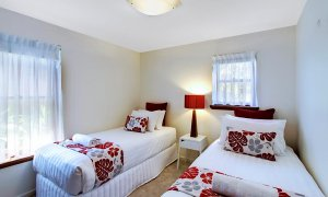 Byron Blisshouse Garden Villa - Twin Bedroom