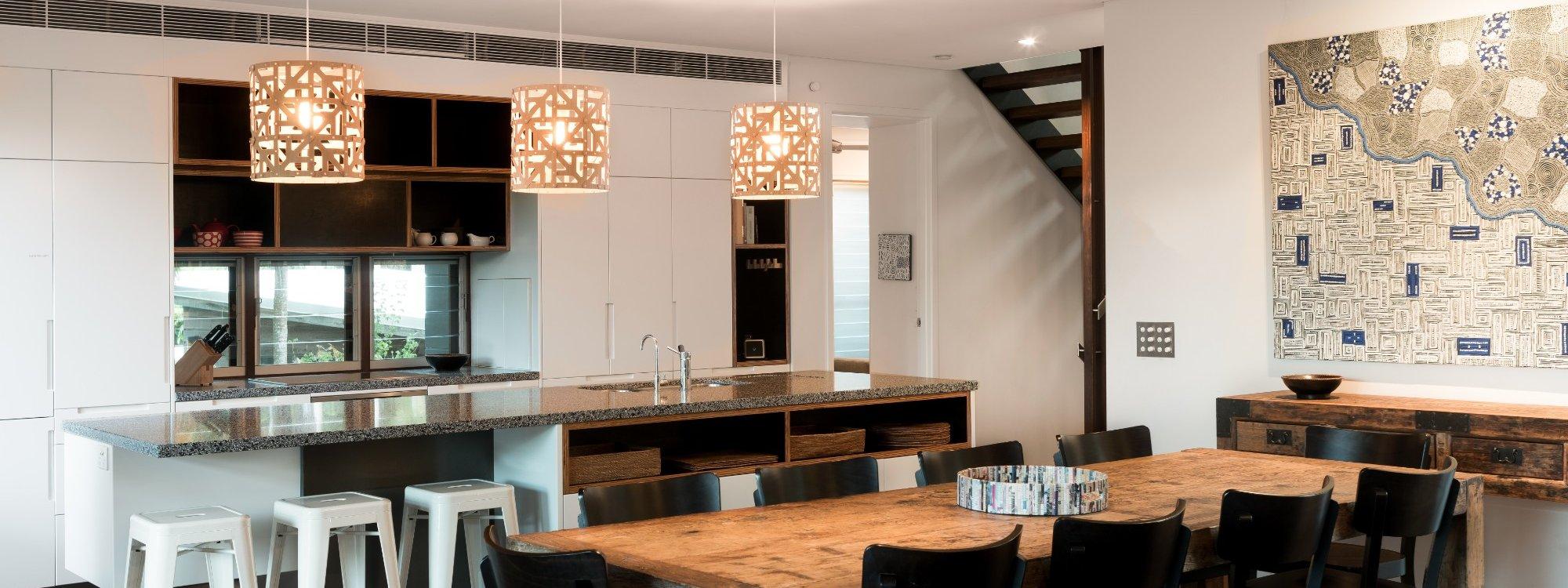 Ayana Byron Bay - kitchen and dining