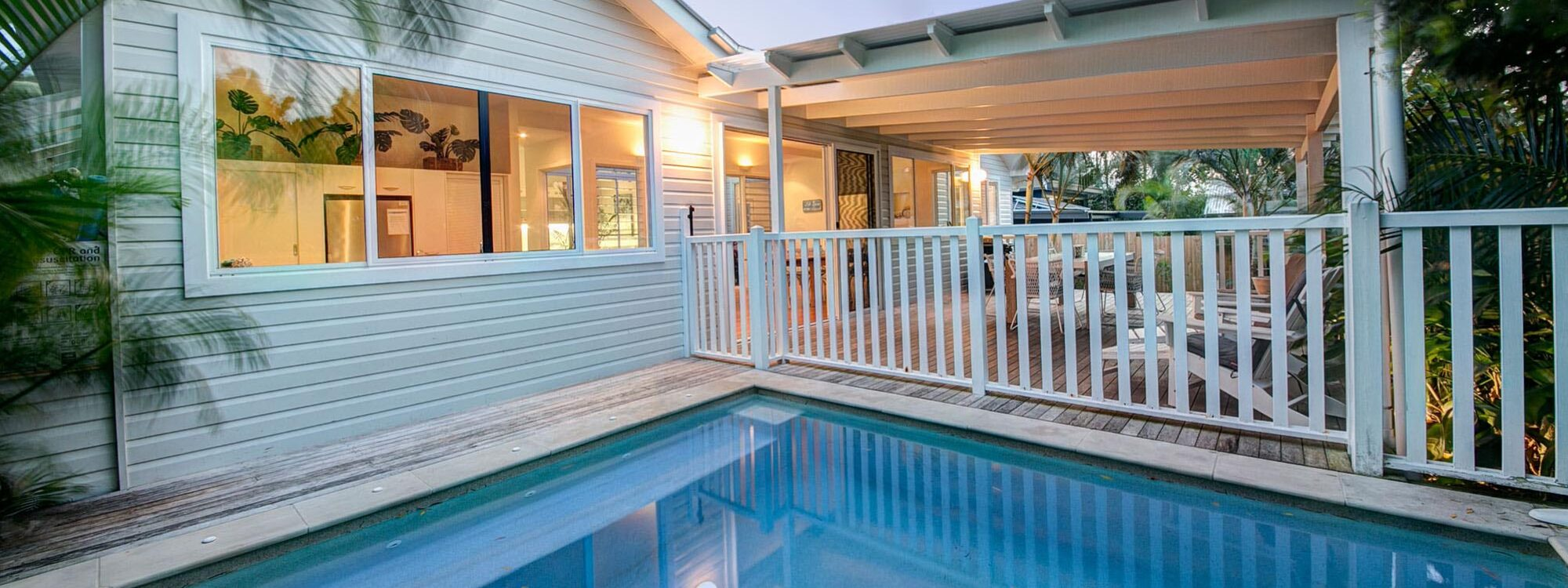 A Summer Cottage - Byron Bay - Swimming Pool