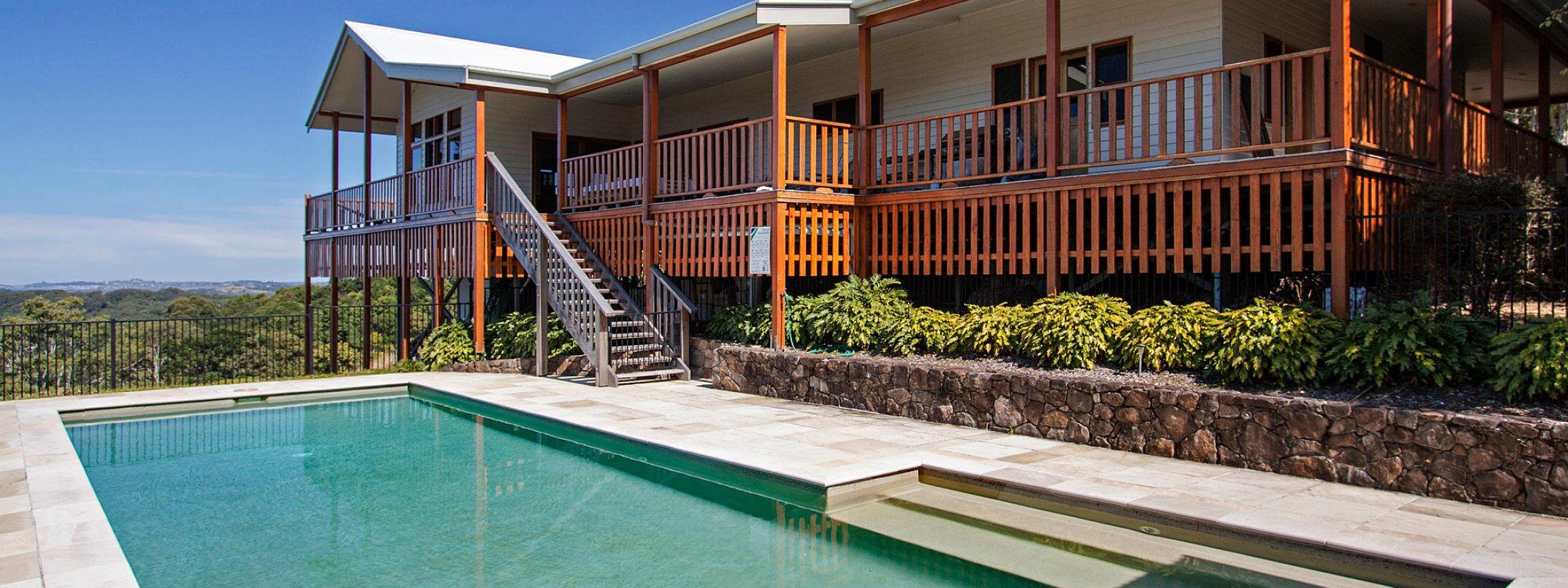 Aloha Ohana Nui - Byron Bay - Pool Area