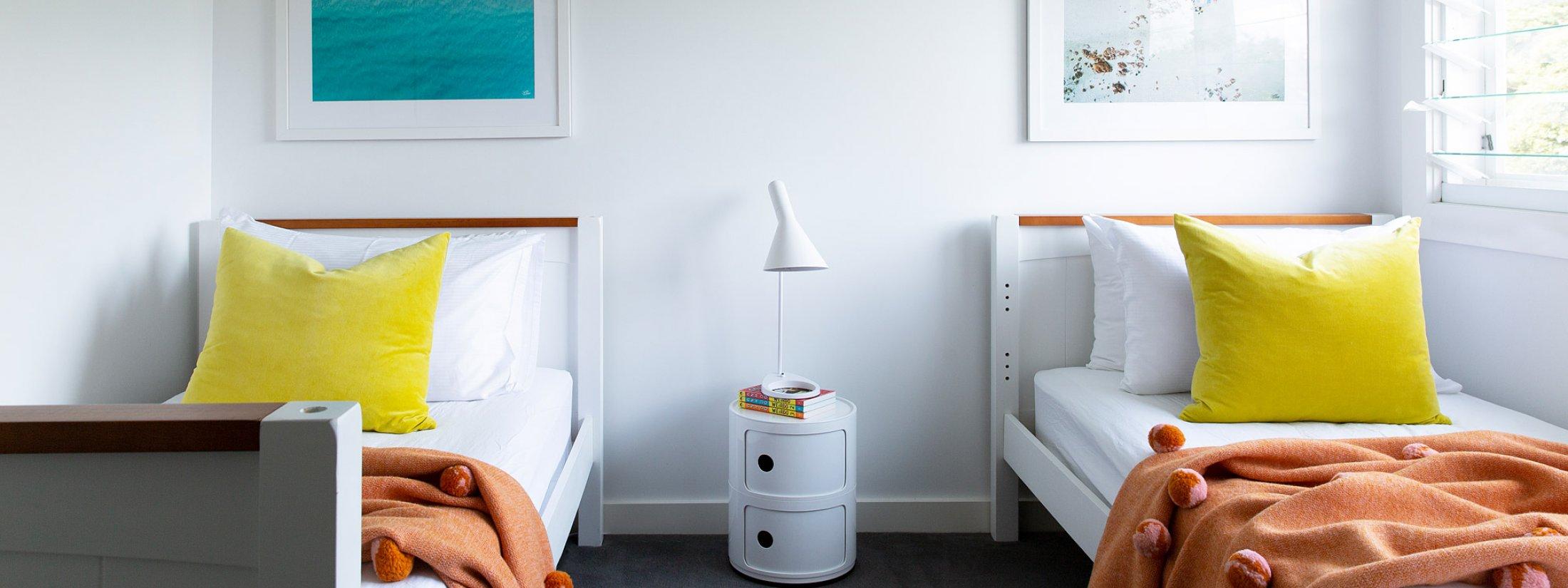 Amileka - Byron Bay Hinterland - Bedroom 5 Twin Room