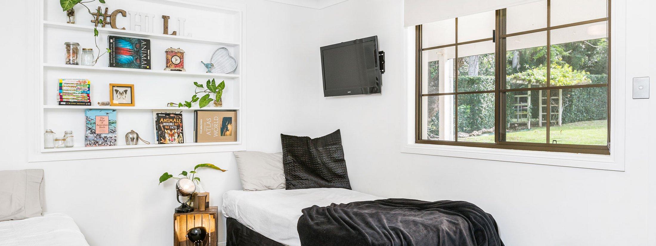 Augustine - Byron Bay - Bedroom 1 Downstairs