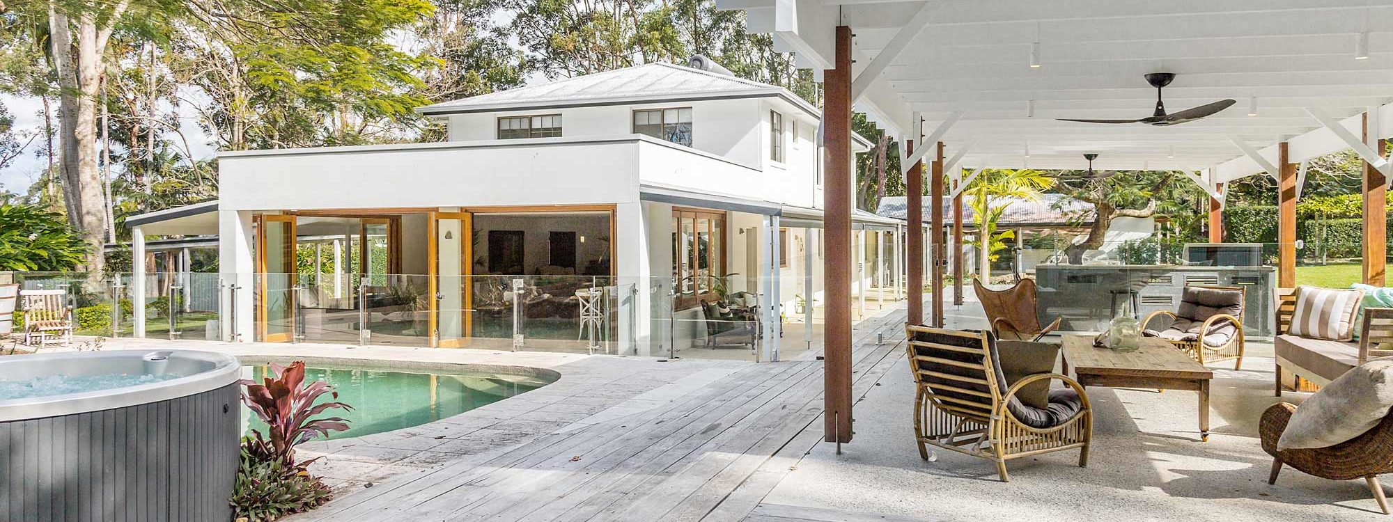 Augustine - Byron Bay - Outdoor Living Area a