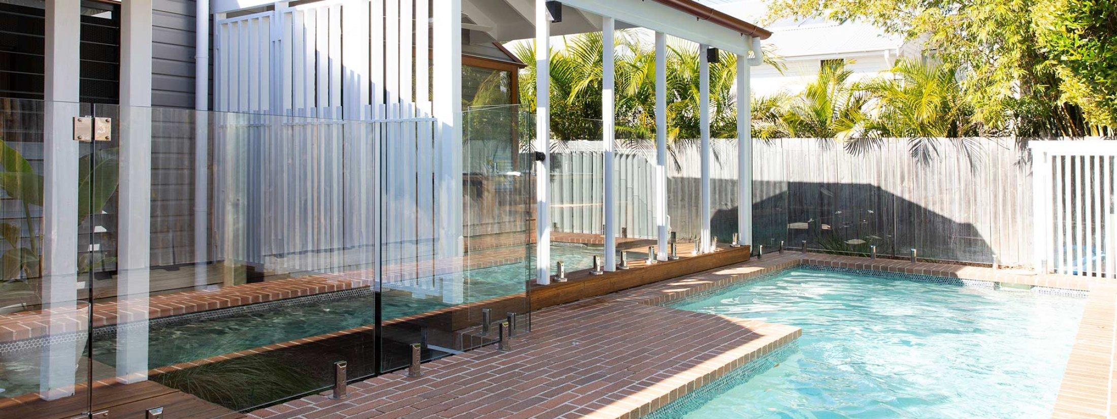 Bacchus - Byron Bay - Pool Toward House
