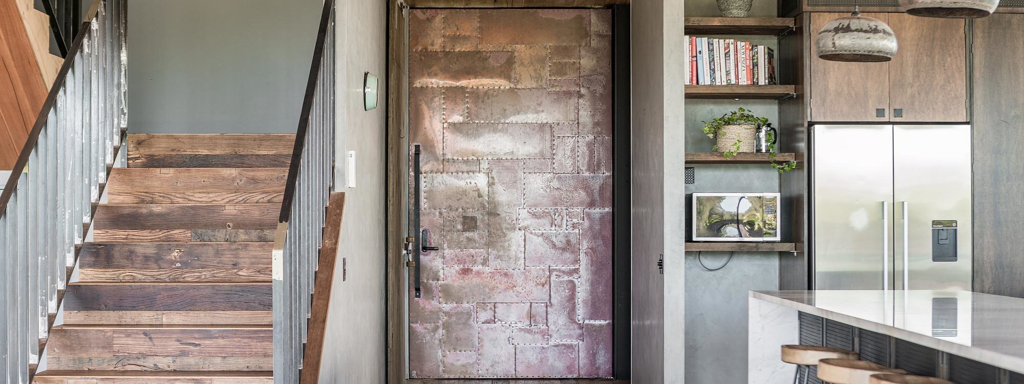 Beach Box - Byron Bay - Styled Copper Entrance Door
