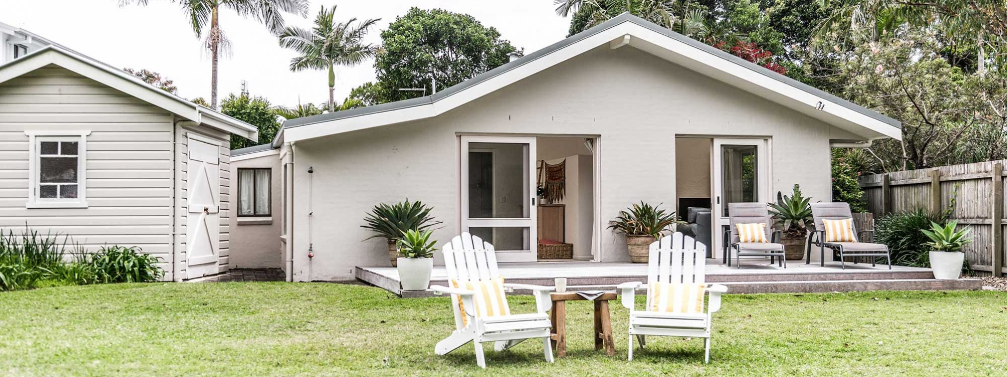Beachwood - Byron Bay - Backyard b