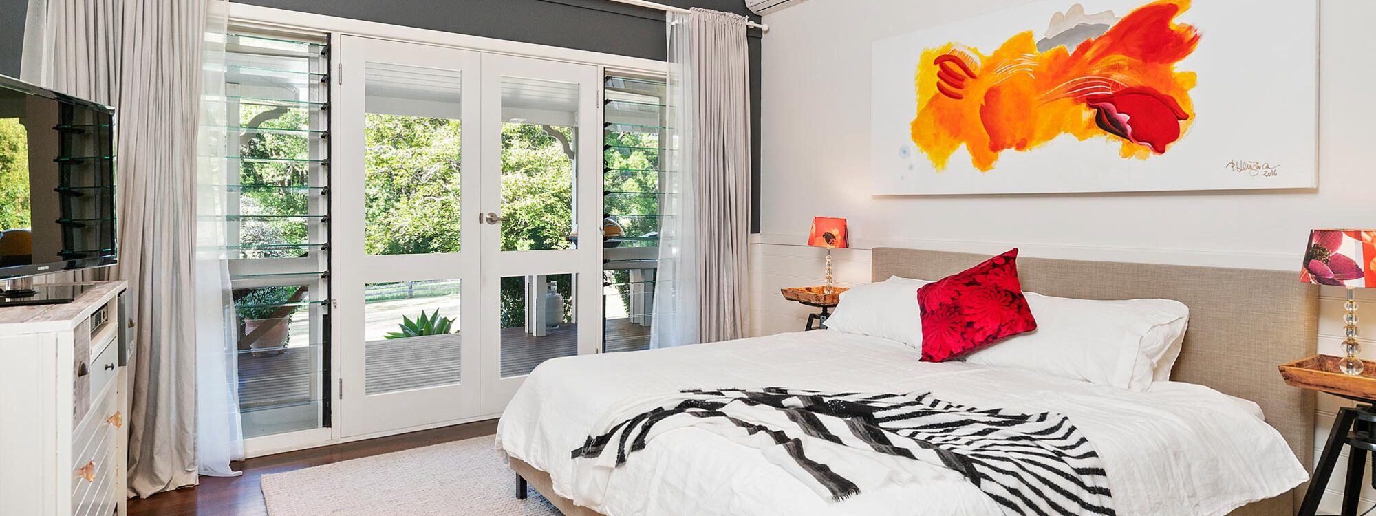 Bellbird - Byron Bay - Master Bedroom a
