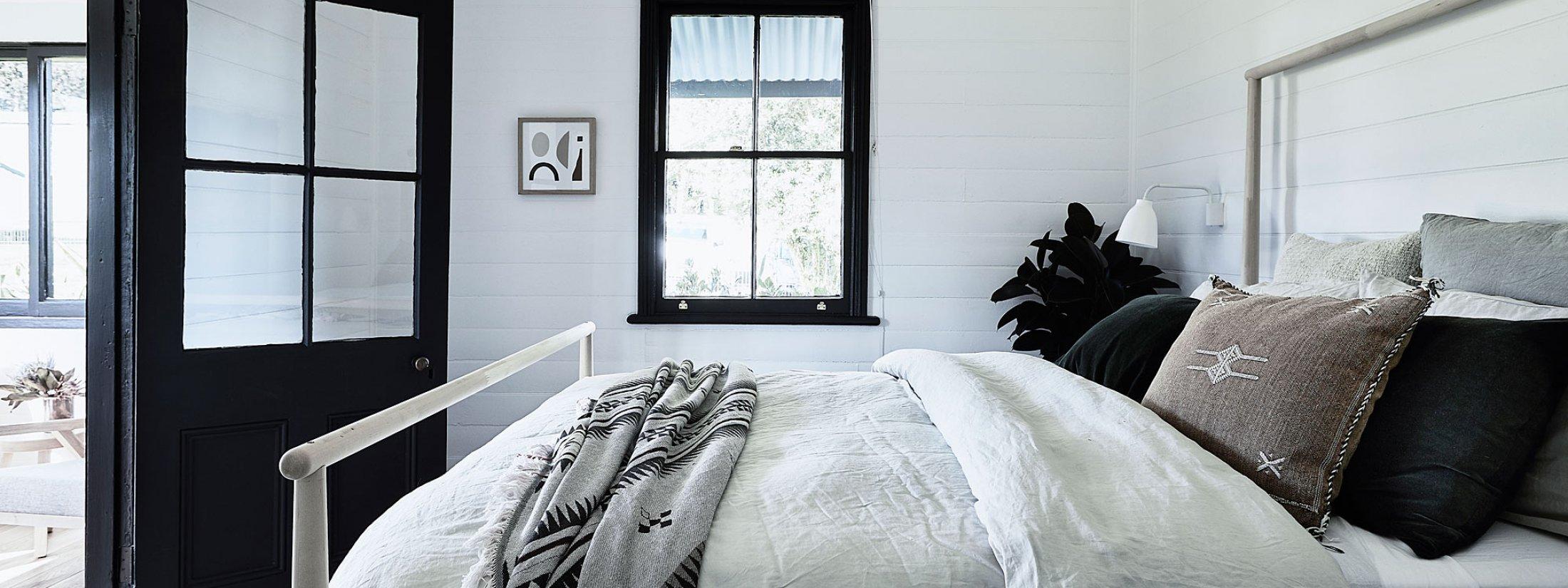 Bennys Cottage - Byron Bay - Real Living Shoot Master Bedroom