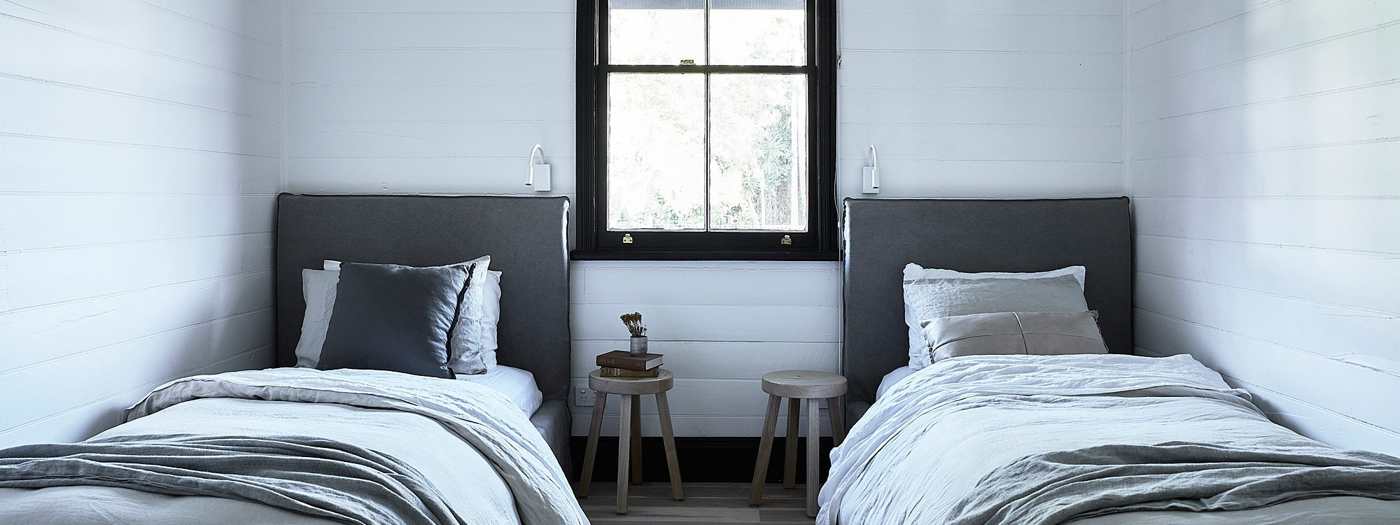 Bennys Cottage - Byron Bay - Real Living Shoot Twin Room