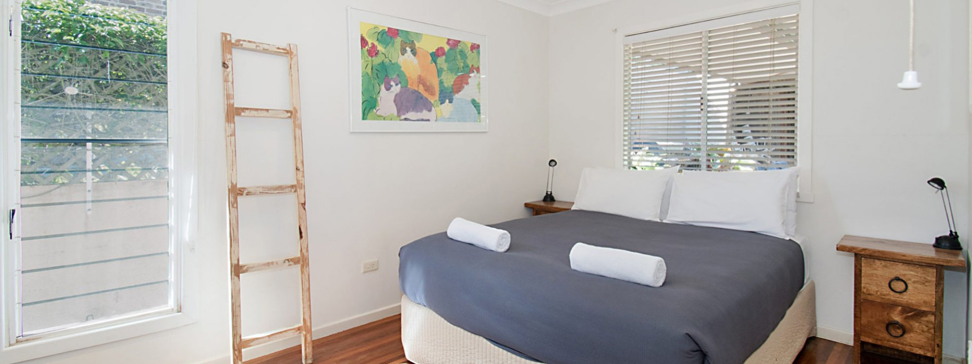 Byron View - Clarkes Beach - Bedroom 3