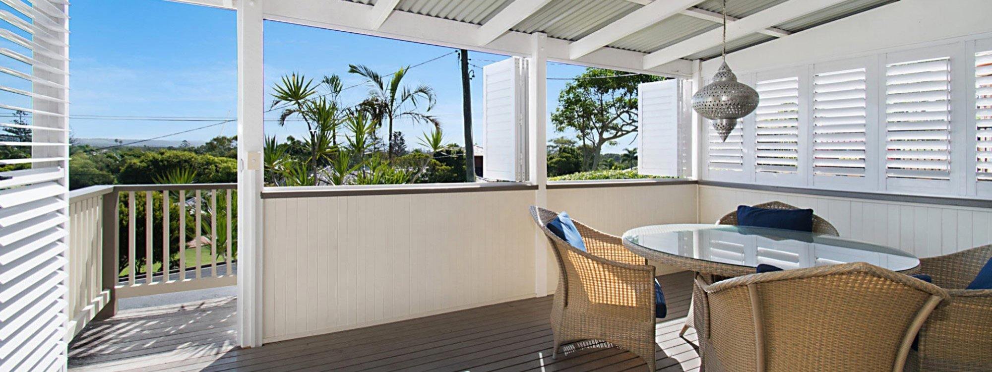 Byron View - Clarkes Beach - Front Deck East