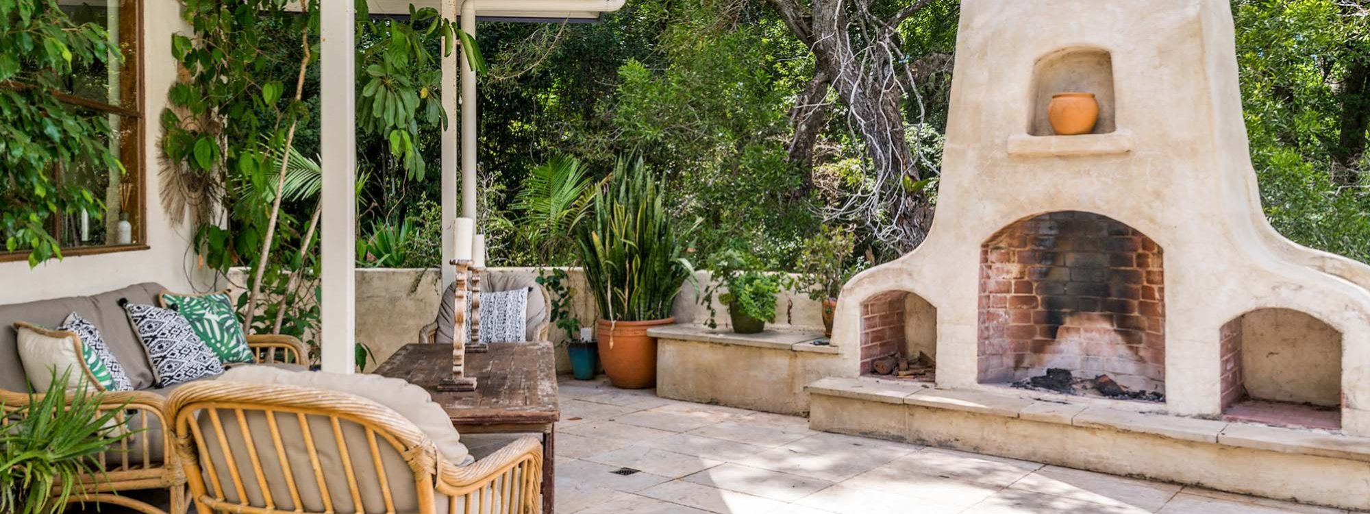 Casa Serena - Byron Bay - Outdoor Fireplace