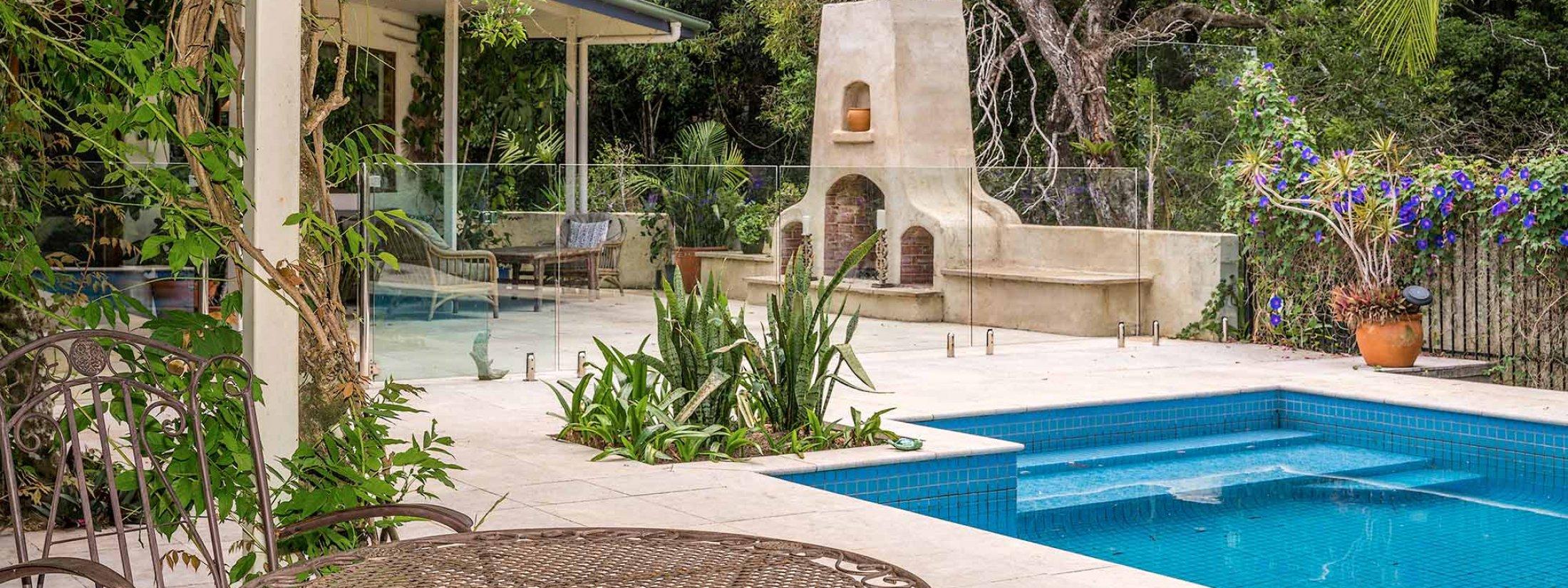 Casa Serena - Byron Bay - Pool Area d