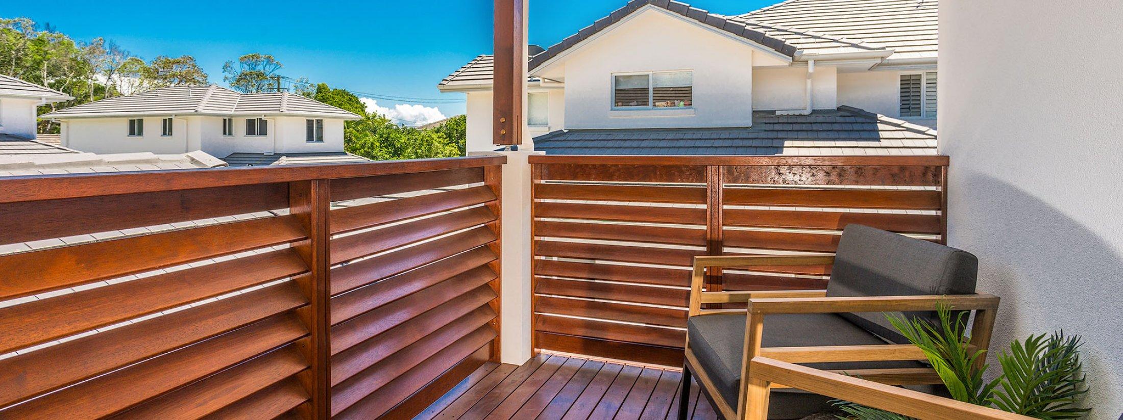 Driftwood - Byron Bay - Master Bedroom Balcony