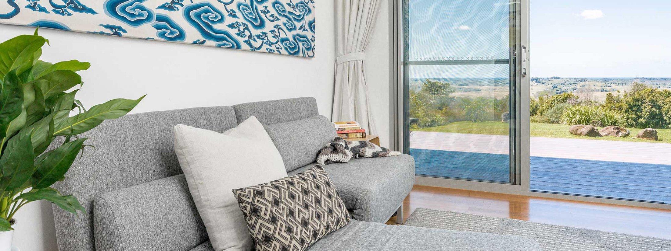 Jali Burugar - Byron Bay - Bedroom 4 Fold-out Lounge