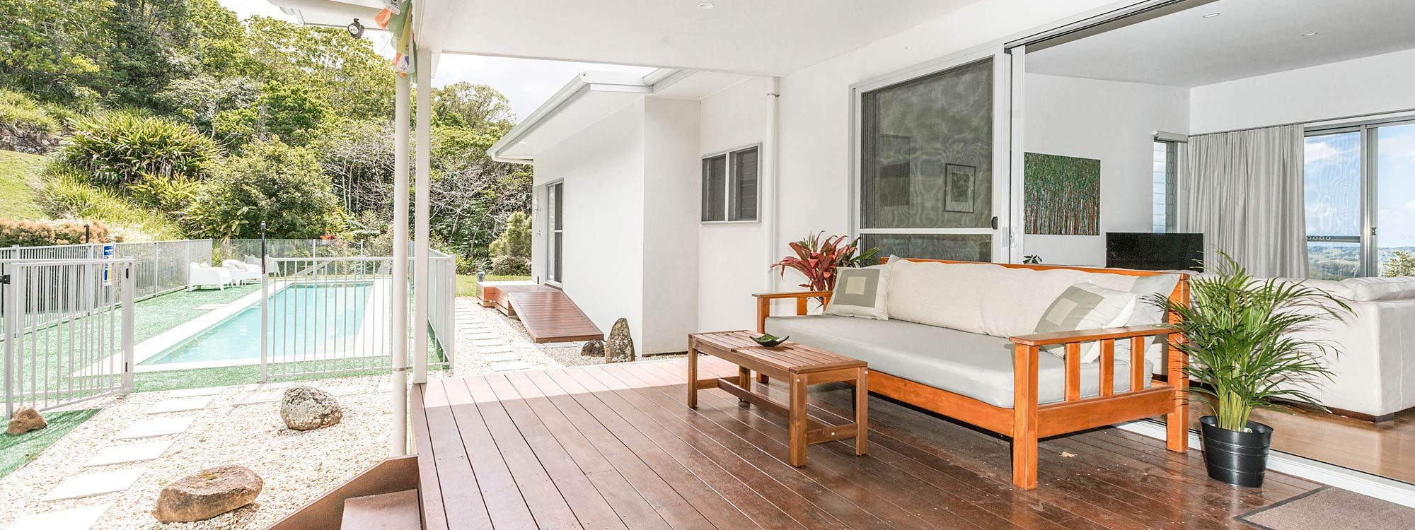 Jali Burugar - Byron Bay - Extra Pool and Daybed