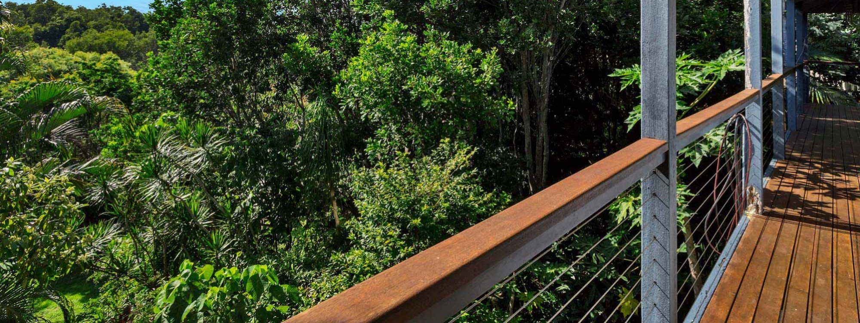Jannah - Lennox Head - Deck with view