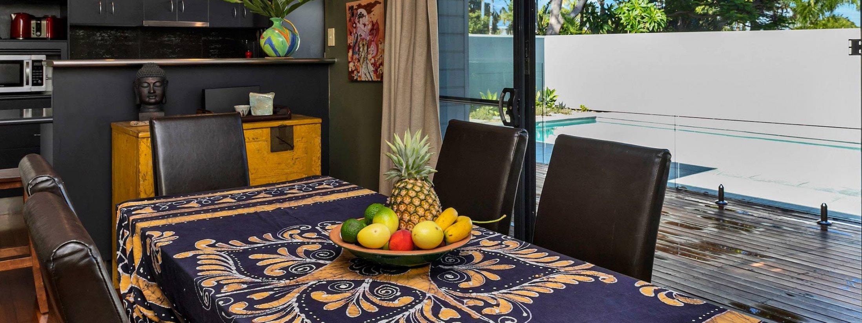 Jannah - Lennox Head - Dining to pool