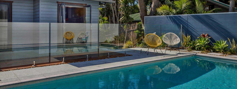 Jannah - Lennox Head - Pool to house