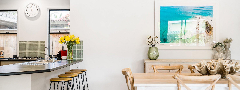 Julian Rocks House - Byron Bay - Kitchen and Dining e