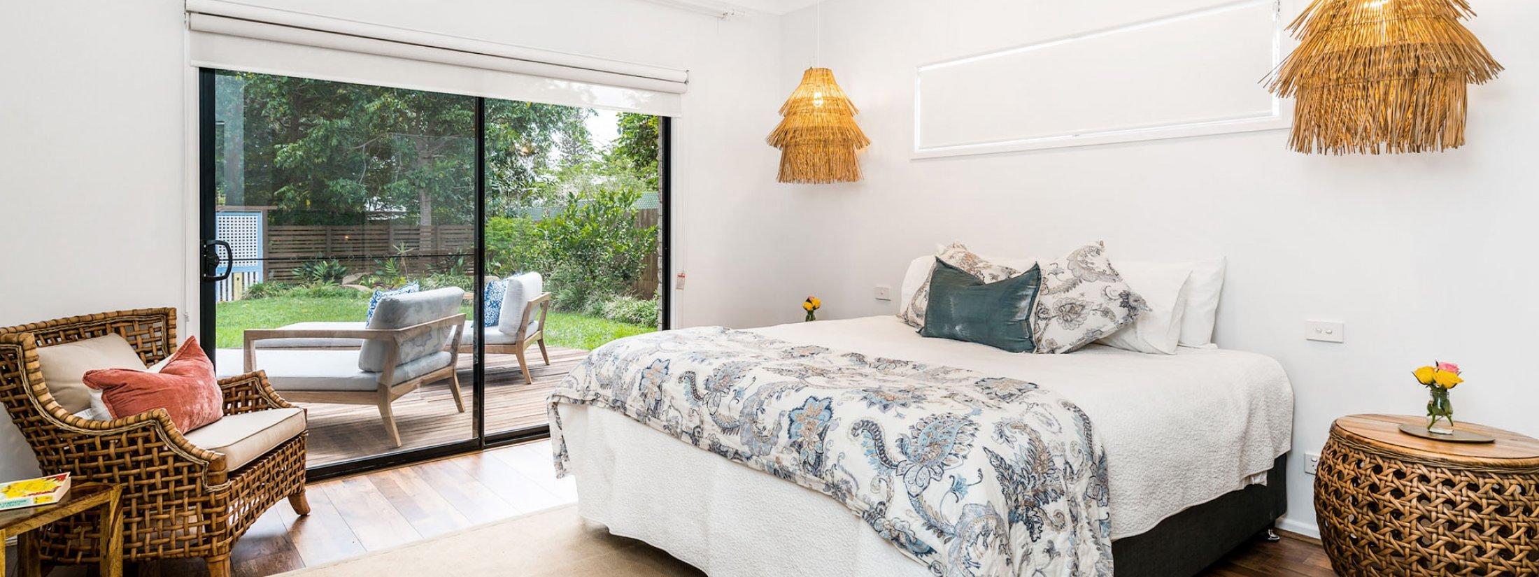 Julian Rocks House - Byron Bay - Master Bedroom