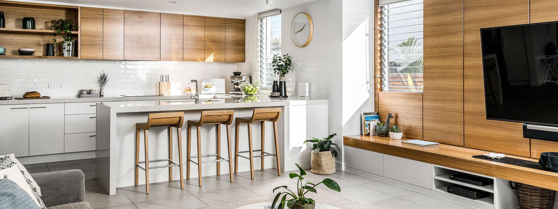 Kaylani Cove - Byron Bay - Living Area and Kitchen b