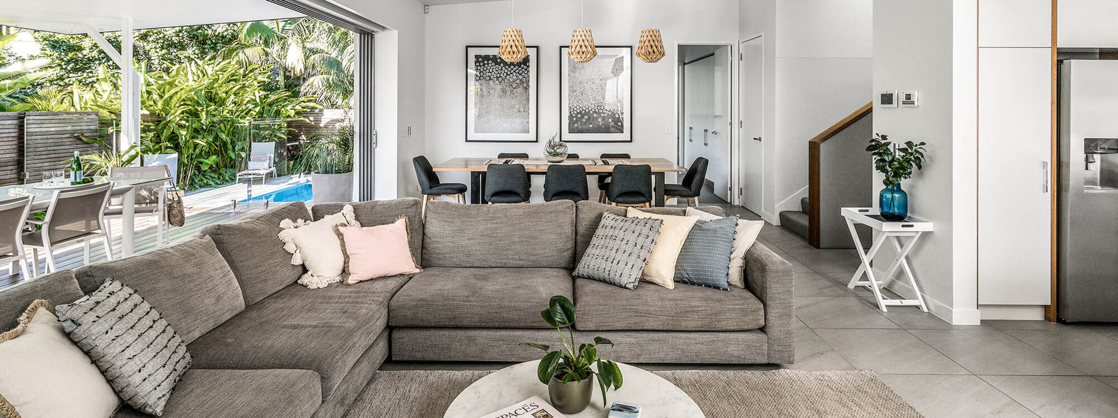 Kaylani Cove - Byron Bay - Lounge and Dining