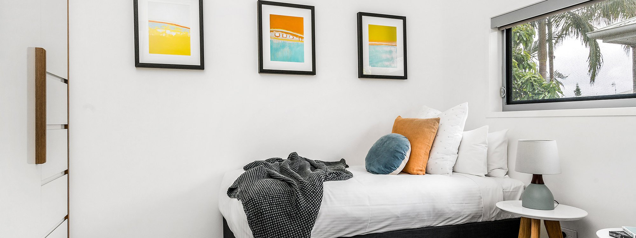 Kokos Beach House 2 - Byron Bay - Bedroom 3 Twin Split a