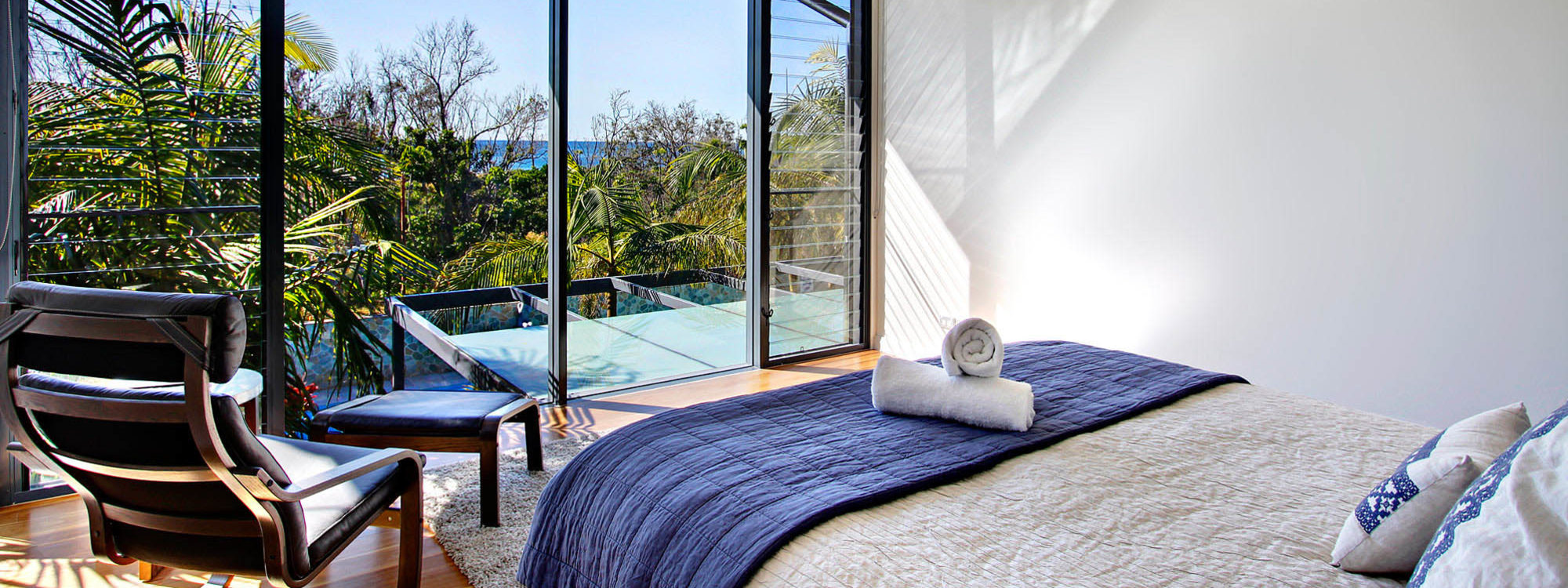 Ocean View at Kiah - Byron Bay - Bedroom Master c