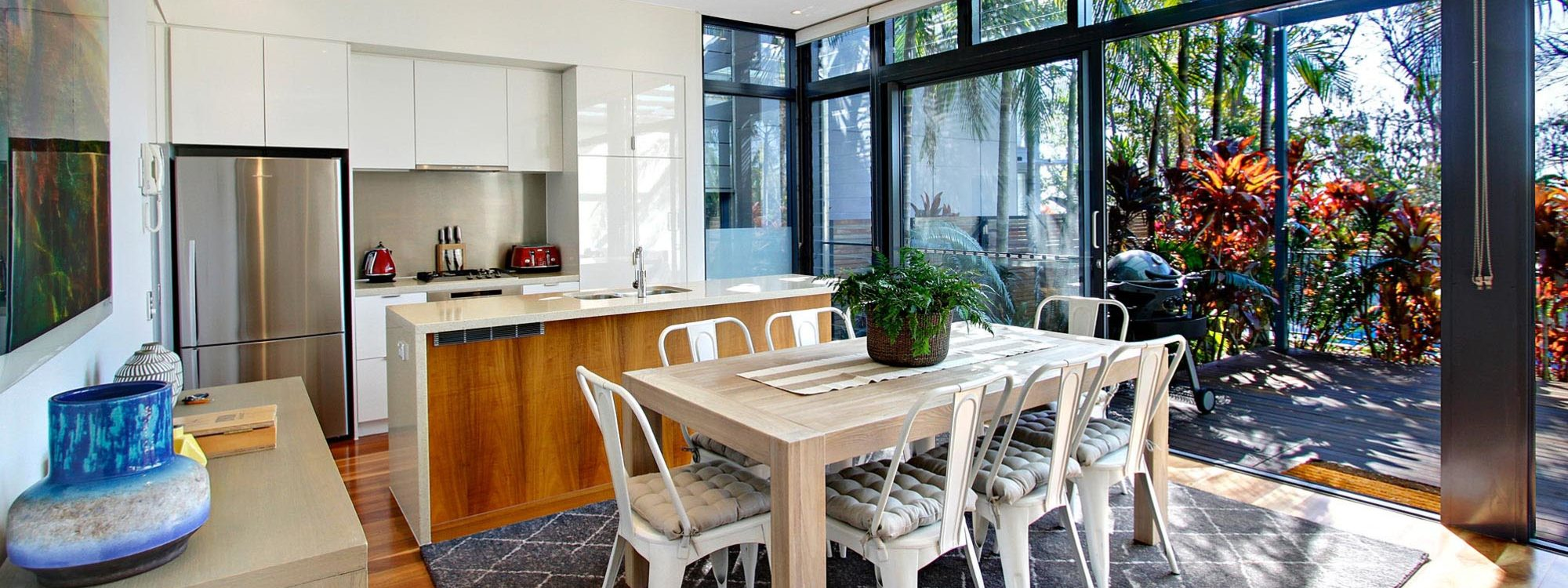Ocean View at Kiah - Byron Bay - Open Plan Living d