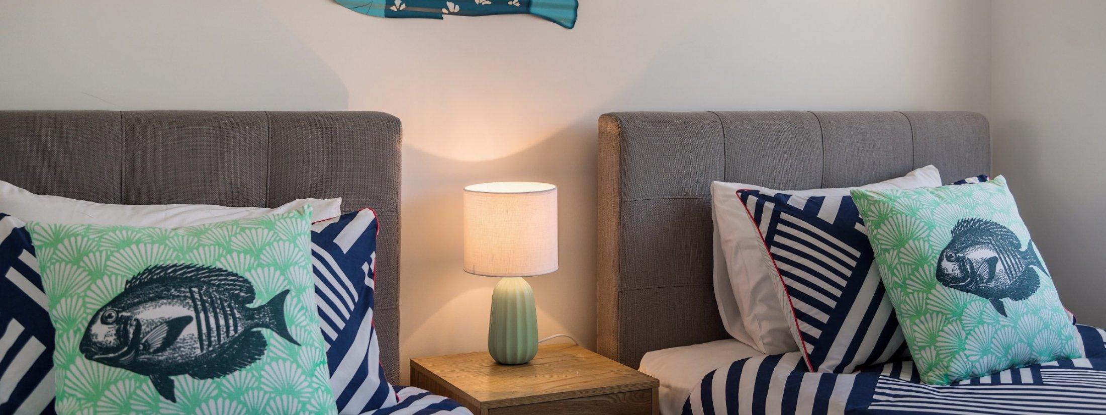 Ocean Walk - twin bedroom