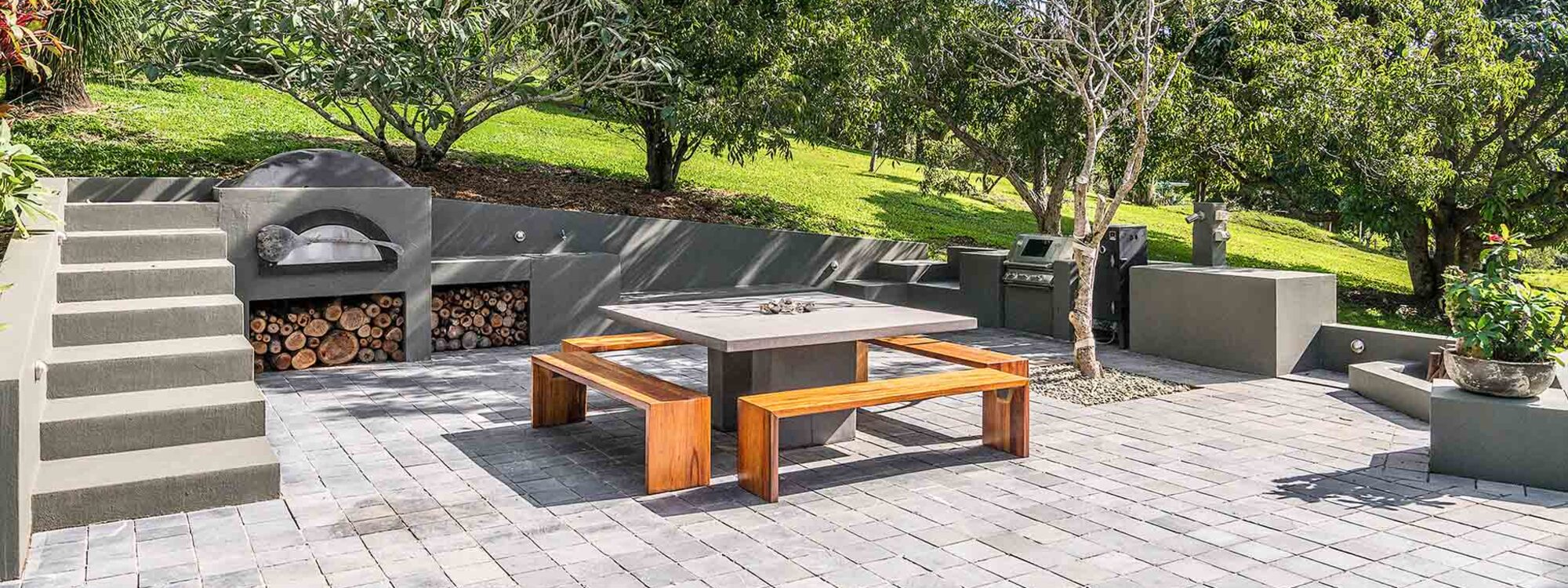 Ourmuli - Byron Bay - Outdoor Entertaining Area