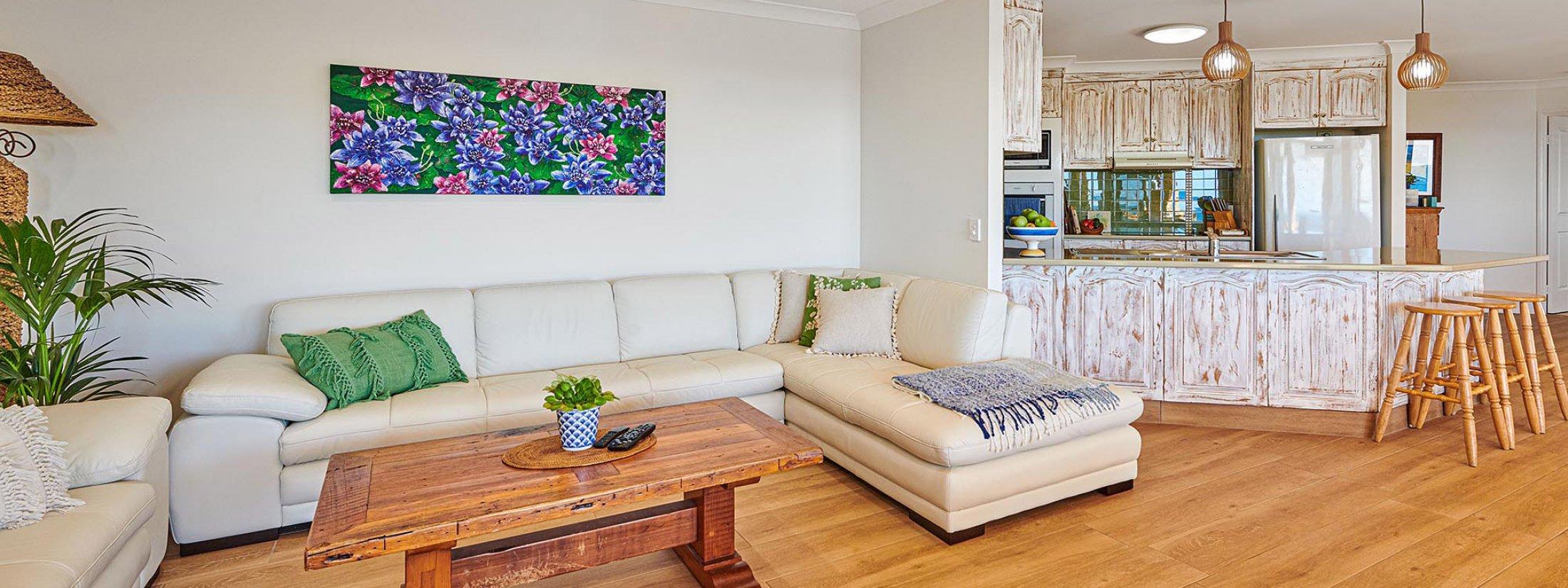 Sea Deck - Skennars Head - Living Room