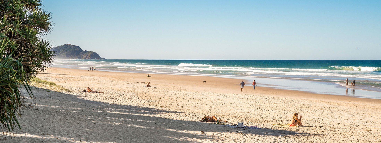 Shore Beats Work - Byron Bay - Tallow Beach
