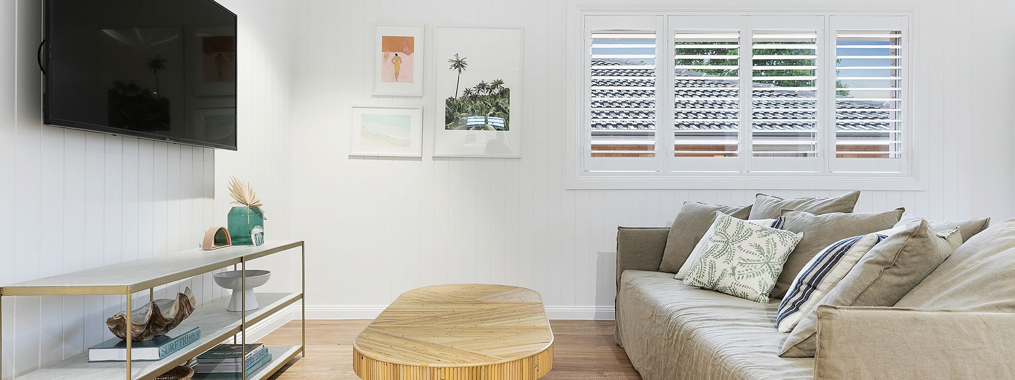 Sunset Beach - Summer Breeze - Brunswick Heads - Living Room