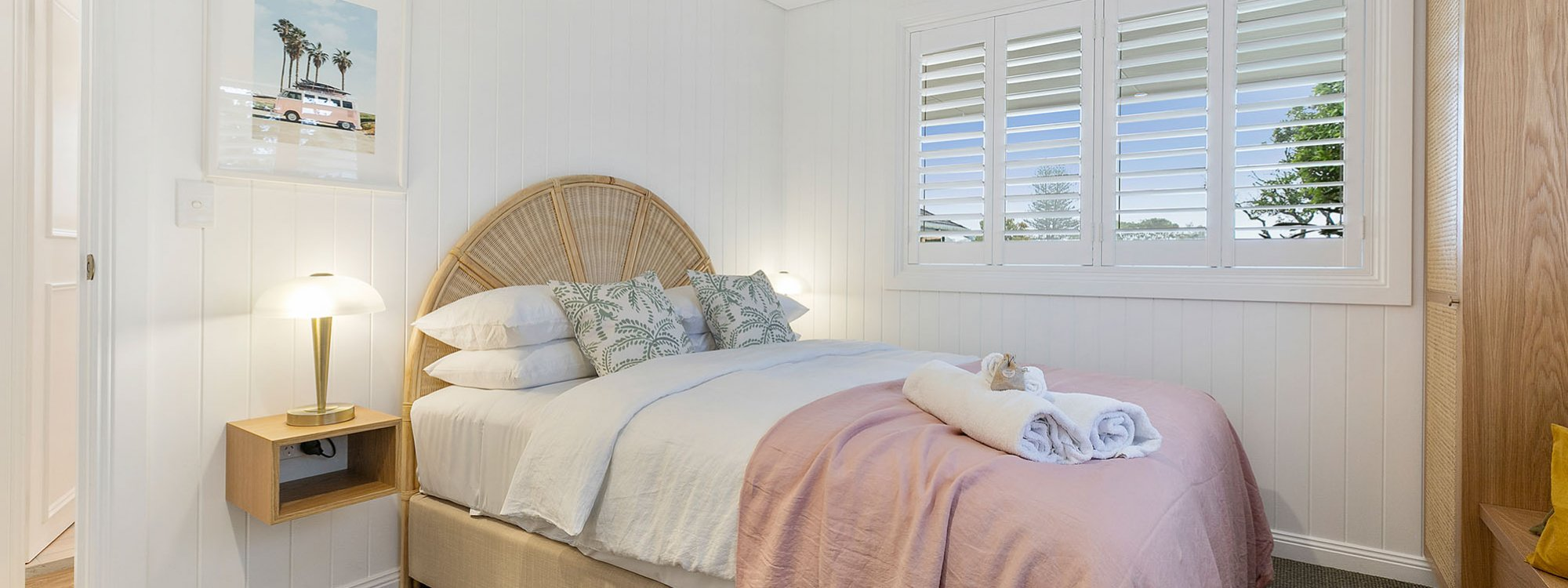 Sunset Beach - Summer Breeze - Brunswick Heads - Queen Bedroom 2