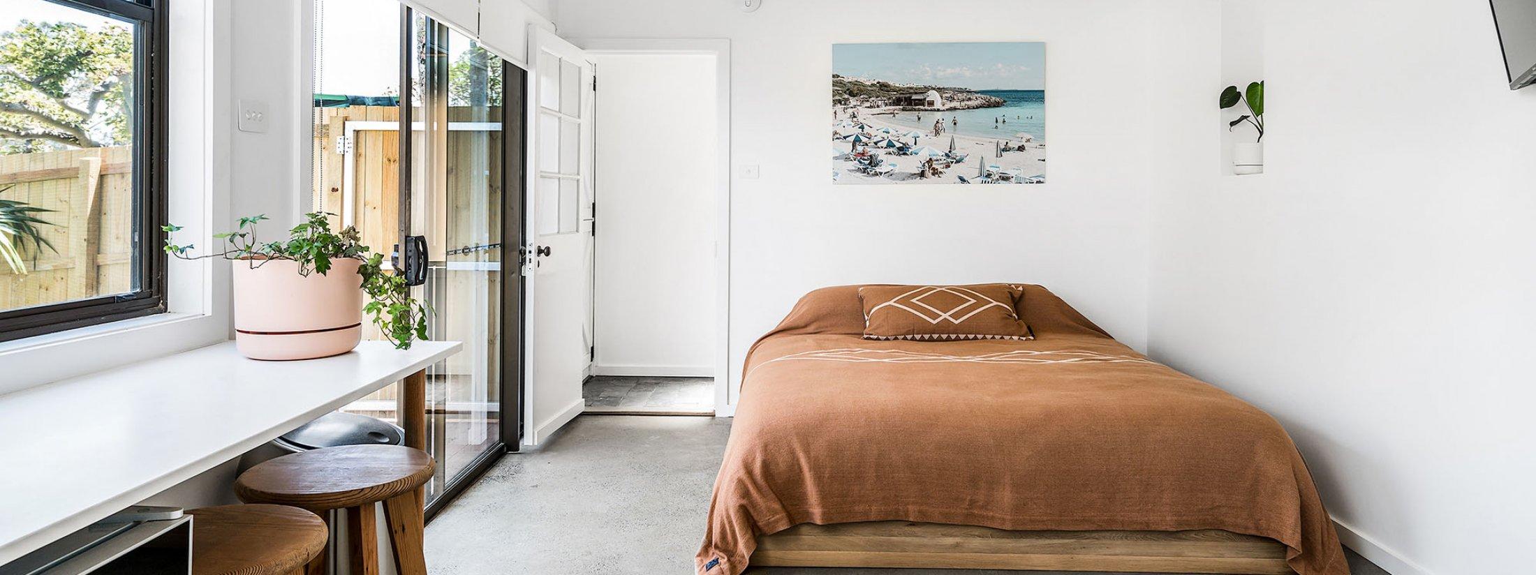 The Harrow - Byron Bay - Bedroom 1 downstairs