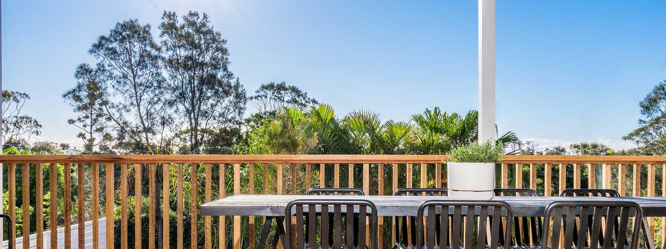The Harrow - Byron Bay - Front Balcony