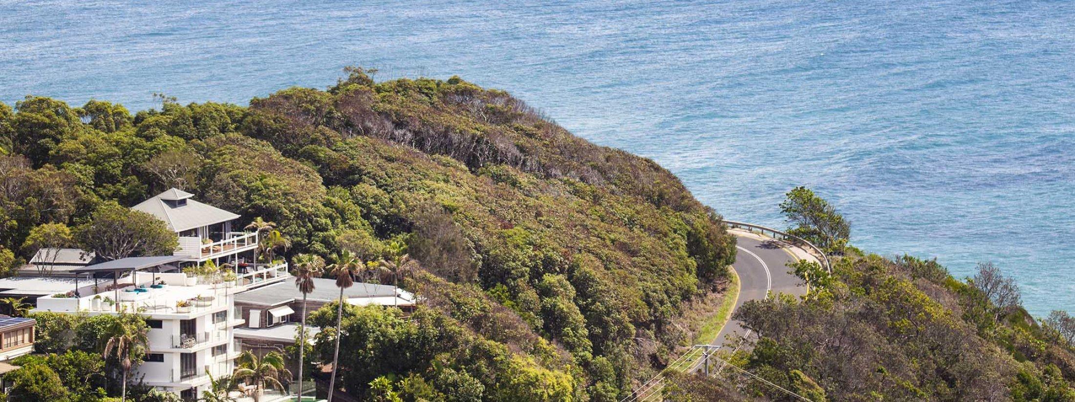 The Palms at Byron - Byron Bay - Wategos Headland Location