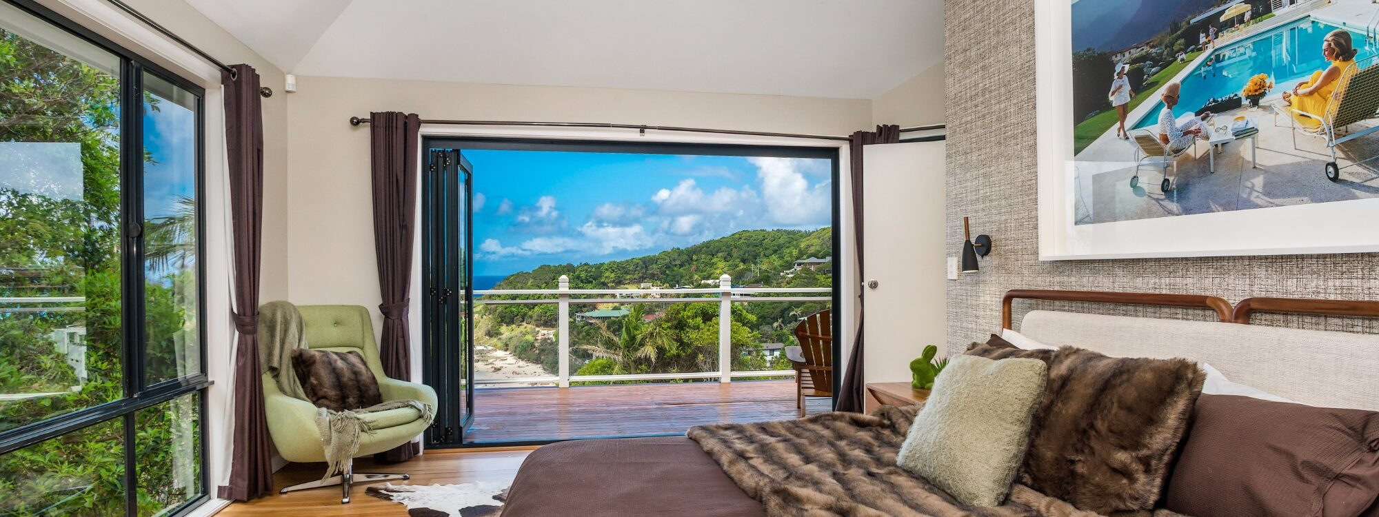 The Palms at Byron - Wategos Beach - Byron Bay - Master Bedroom