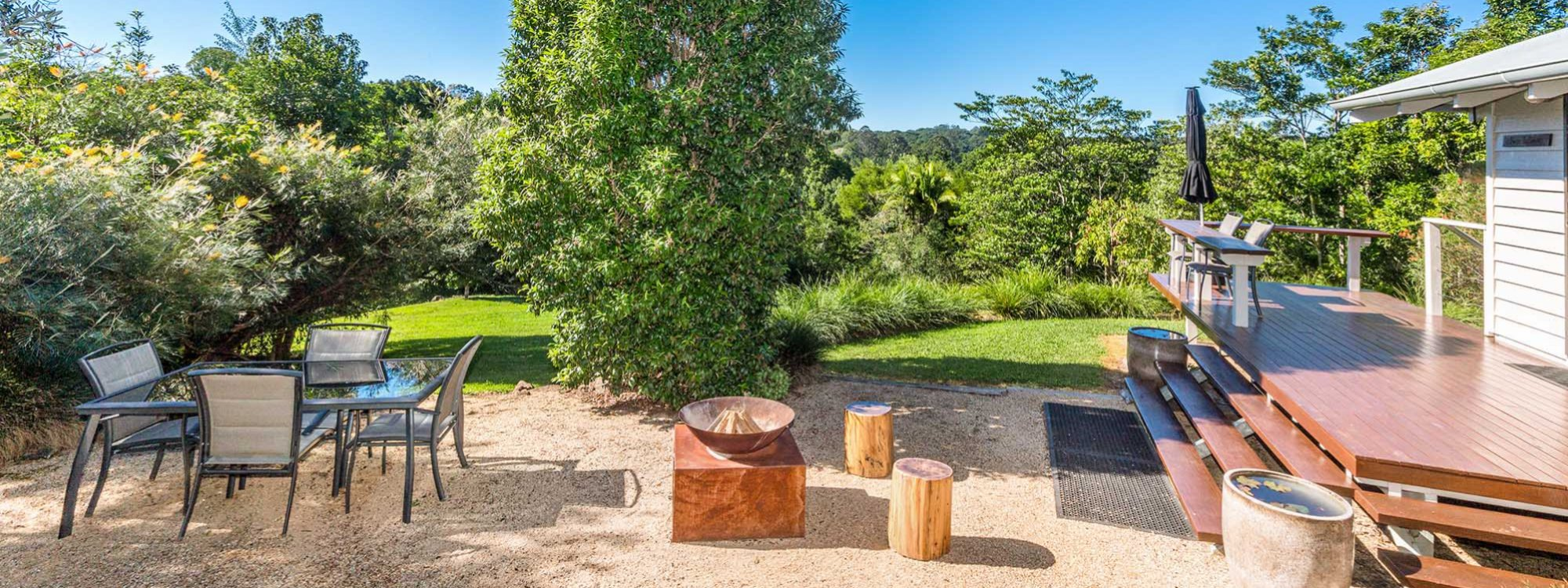 Twin Tallows - Byron Bay - Outdoor Living
