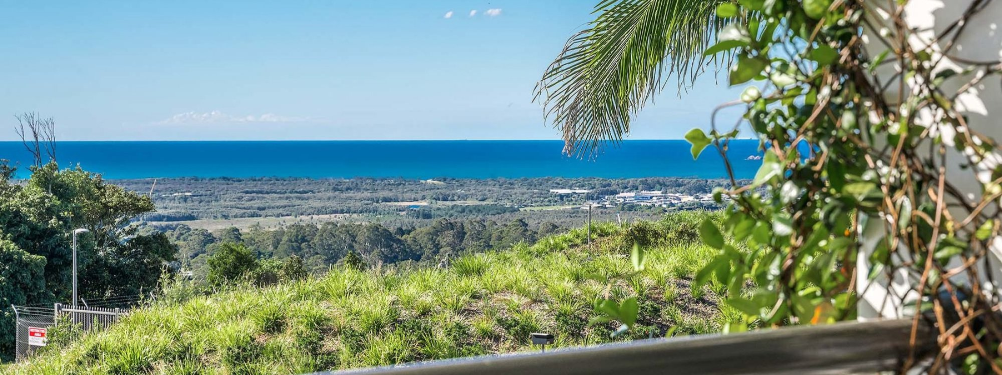 Villa St Helena - Byron Bay - Balcony View From Upstairs